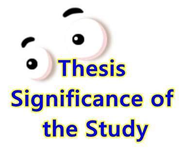 Significance of the Study Ingrid Albarracin - Academiaedu